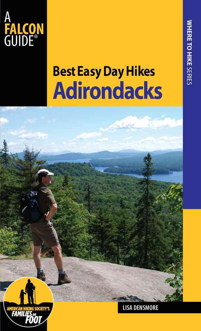 Falcon Best Easy Day Hikes Adirondacks By Densmore, Lisa